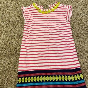Girls dress - festive and bright